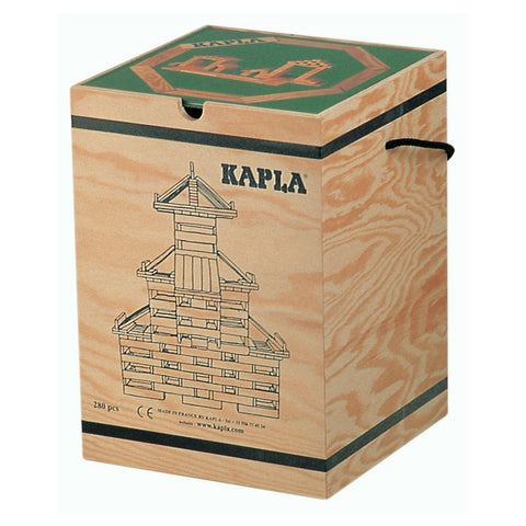 Kapla - 280 Wooden Block Planks | KidzInc Australia | Online Educational Toy Store