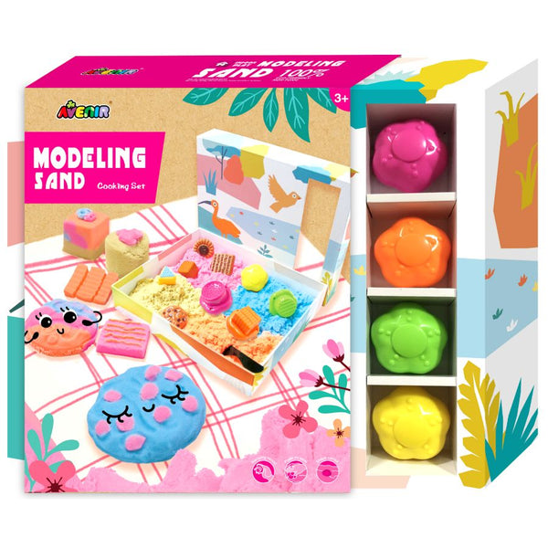 Avenir Modelling Sand Cooking Set | Craft Sets | KidzInc Australia | Online Educational Toys