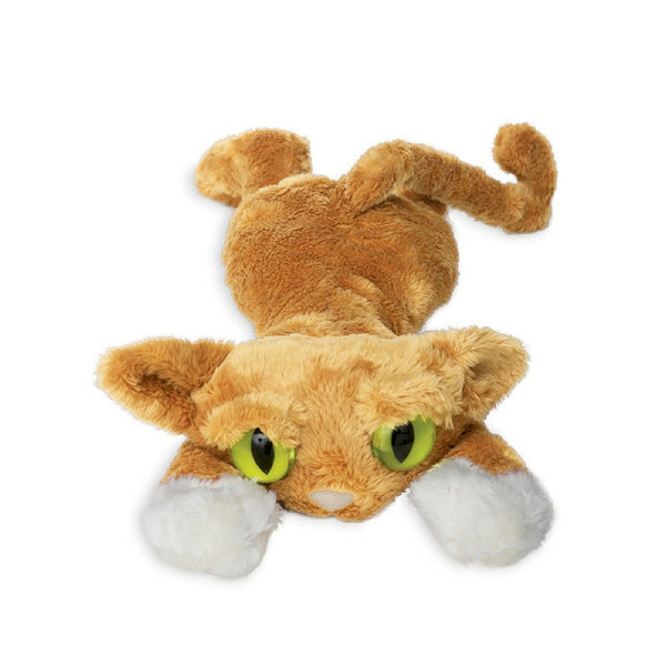Manhattan Toy - Goldie the Orange Lanky Cat Plush Toy | KidzInc Australia | Online Educational Toy Store