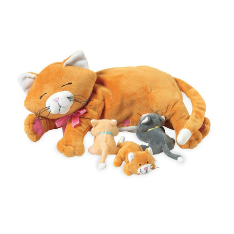 Manhattan Toy - Nursing Nana Dog Plush Toy | KidzInc Australia | Online Educational Toy Store