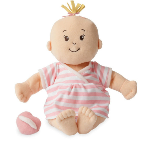 Manhattan Toy - Baby Stella Peach Soft Doll | KidzInc Australia | Online Educational Toy Store