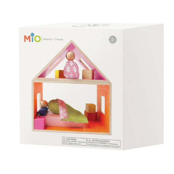 Manhattan Toy - MiO Sleeping with 2 People | KidzInc Australia | Online Educational Toy Store