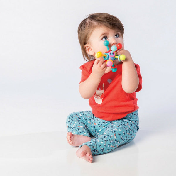 Manhattan Toy - Atom Teether Toy | KidzInc Australia | Online Educational Toy Store