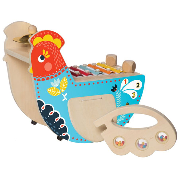 Manhattan Toy Company Musical Chicken | KidzInc Australia Online Toys 4