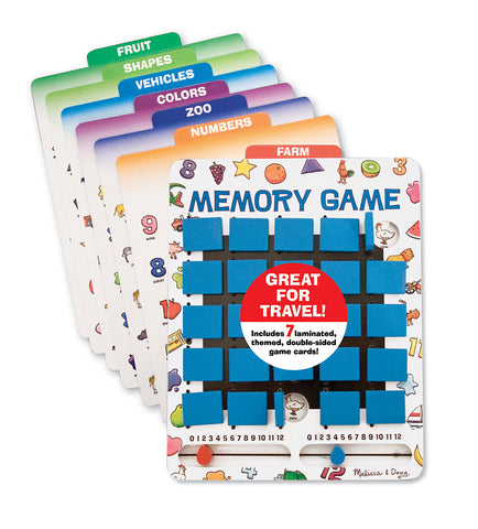 Melissa & Doug - Flip to Win Memory Game | KidzInc Australia | Online Educational Toy Store