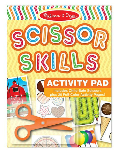 Melissa & Doug - Scissor Skills Activity Pad | KidzInc Australia | Online Educational Toy Store