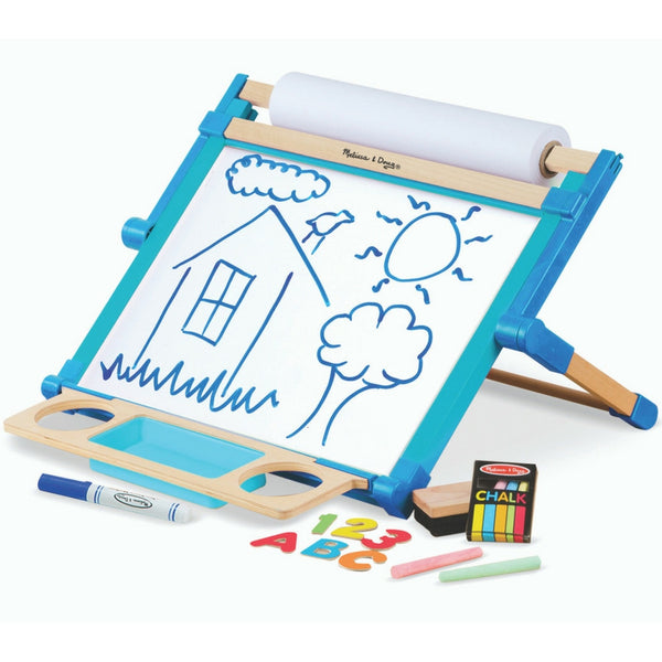 Melissa & Doug - Double-Sided Magnetic Tabletop Easel | KidzInc Australia | Online Educational Toy Store