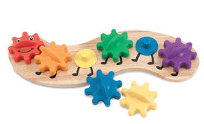 Melissa & Doug - Caterpillar Gear Toy | KidzInc Australia | Online Educational Toy Store