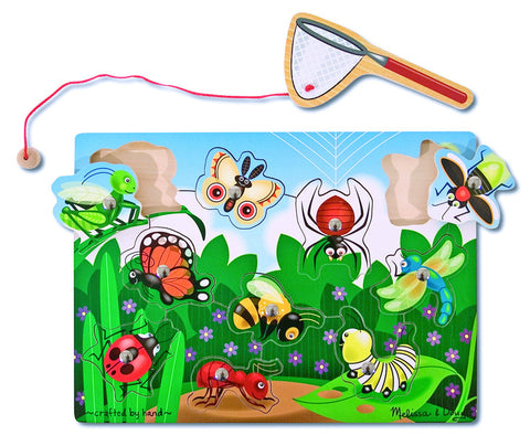 Melissa & Doug - Bug-Catching Magnetic Puzzle Game | KidzInc Australia | Online Educational Toy Store