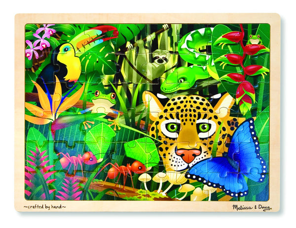 Melissa & Doug Puzzle 48 Pieces - Rain Forest | KidzInc Australia | Online Educational Toy Store