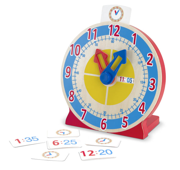 Melissa & Doug - Turn & Tell Clock | KidzInc Australia | Online Educational Toy Store