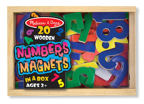 Melissa & Doug - Magnetic Wooden Numbers | KidzInc Australia | Online Educational Toy Store