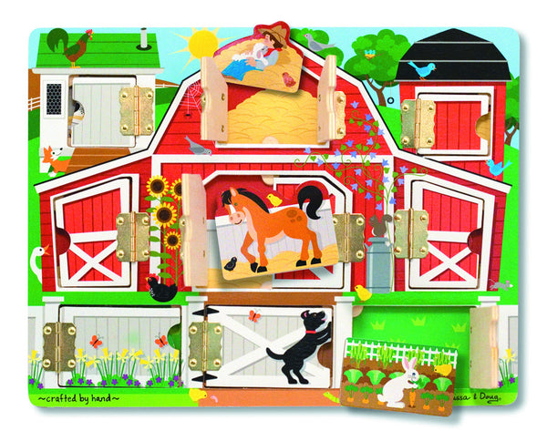Melissa & Doug - Magnetic Farm Hide & Seek | KidzInc Australia | Online Educational Toy Store