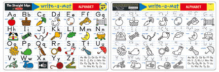 Melissa & Doug - Write-A-Mat: Alphabet | KidzInc Australia | Online Educational Toy Store