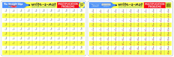Melissa & Doug - Multiplication Write-A-Mat | KidzInc Australia | Online Educational Toy Store