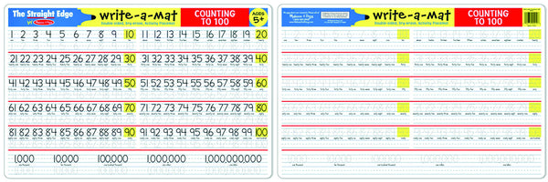 Melissa & Doug - Counting to 100 Write-A-Mat | KidzInc Australia | Online Educational Toy Store