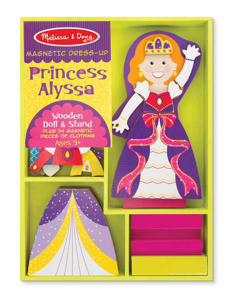 Melissa & Doug - Princess Alyssa Magnetic Dress-Up | KidzInc Australia | Online Educational Toy Store