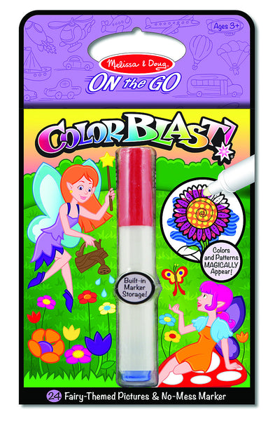 Melissa & Doug - On The Go - Color Blast! - Fairies | KidzInc Australia | Online Educational Toy Store