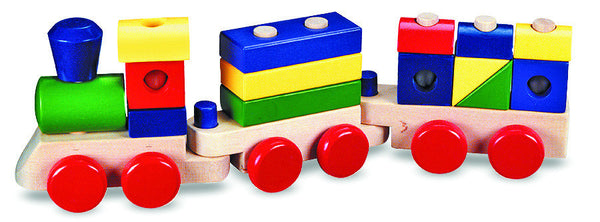 Melissa & Doug - Stacking Train | KidzInc Australia | Online Educational Toy Store