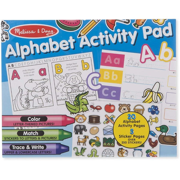 Melissa and Doug Alphabet Activity Pad | KidzInc Australia Online Educational Toys