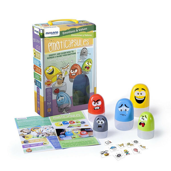 Miniland - Aptitude Emoticapsules Educational Game | KidzInc Australia | Online Educational Toy Store