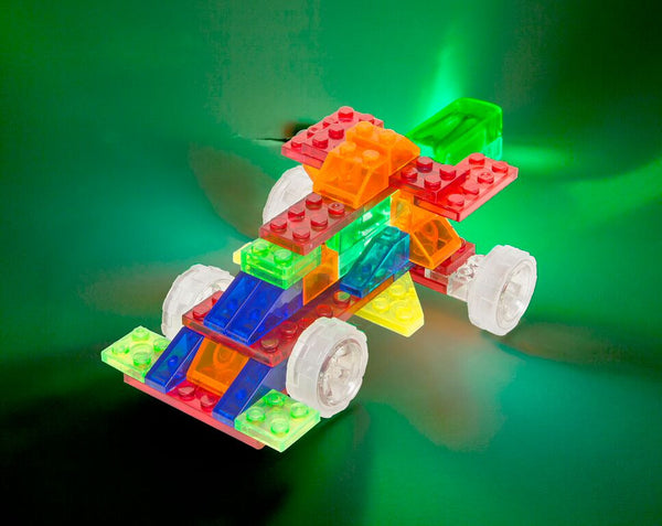 Laser Pegs - 4 in 1 Cars | KidzInc Australia | Online Educational Toy Store