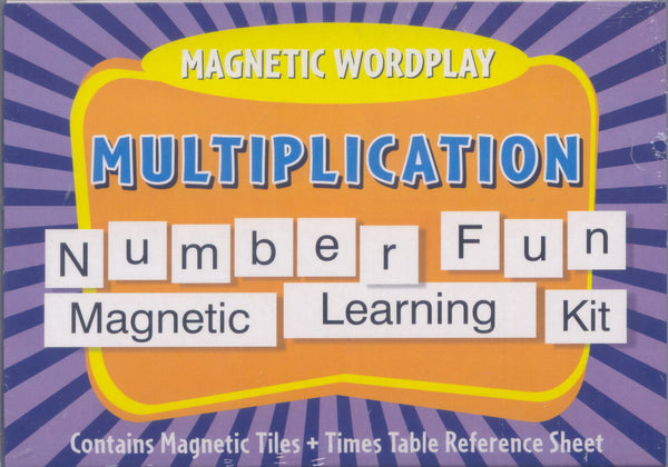 Magnetic Wordplay Carry Case: Multiplication | KidzInc Australia | Online Educational Toy Store