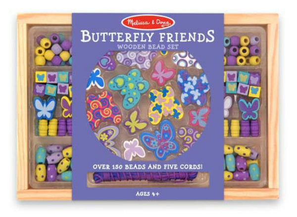 Melissa & Doug - Butterfly Friends Bead Set | KidzInc Australia | Online Educational Toy Store