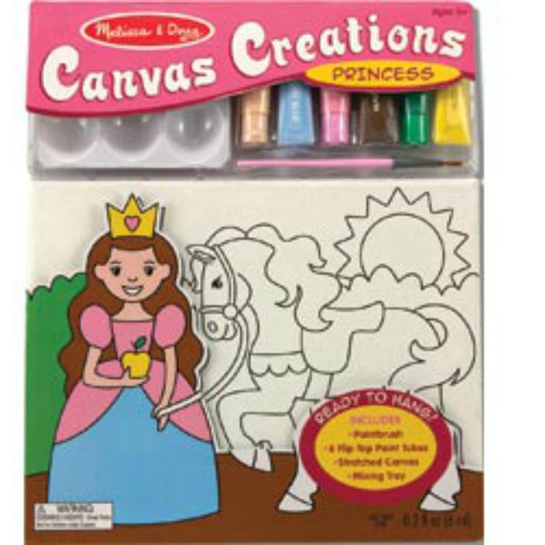Melissa & Doug - Canvas Creations - Princess | KidzInc Australia | Online Educational Toy Store