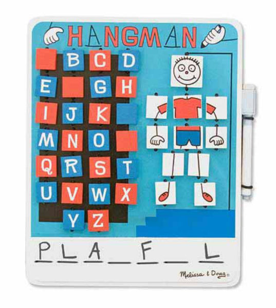 Melissa & Doug - Flip to Win Hangman Game | KidzInc Australia | Online Educational Toy Store
