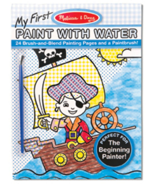 Melissa & Doug - My First Paint with Water (Boy) | KidzInc Australia | Online Educational Toy Store