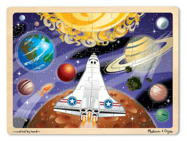 Melissa & Doug Puzzle 48 Pieces - Space Voyage | KidzInc Australia | Online Educational Toy Store