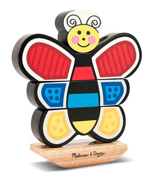 Melissa & Doug - Stacking Butterfly | KidzInc Australia | Online Educational Toy Store