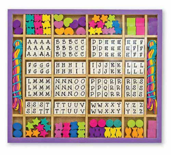 Melissa & Doug - Wooden Stringing Beads | KidzInc Australia | Online Educational Toy Store