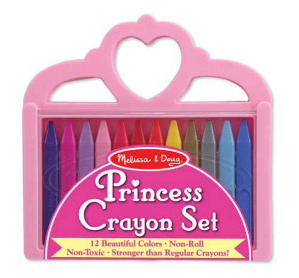 Melissa & Doug - Crayon Set - Princess | KidzInc Australia | Online Educational Toy Store