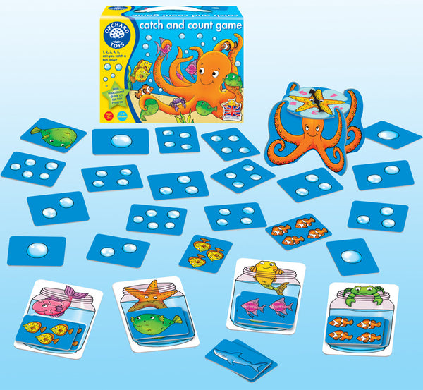 Orchard Toys - Catch and Count Game | KidzInc Australia | Online Educational Toy Store