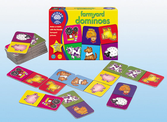 Orchard Toys - Farmyard Dominoes | KidzInc Australia | Online Educational Toy Store