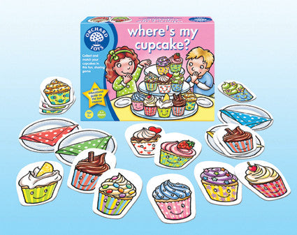 Orchard Toys - Where's my cupcake Game | KidzInc Australia | Online Educational Toy Store