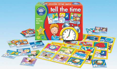 Orchard Toys - Tell The Time Lotto Game | KidzInc Australia | Online Educational Toy Store