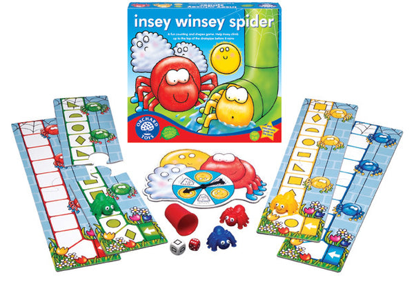 Orchard Toys - Insey Winsey Spider Game | KidzInc Australia | Online Educational Toy Store