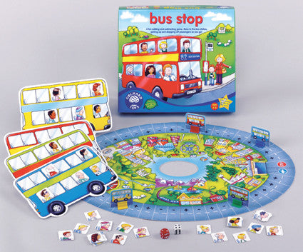 Orchard Toys - Bus Stop Game | KidzInc Australia | Online Educational Toy Store