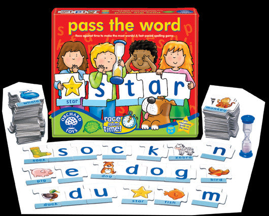 Orchard Toys - Pass The Word Game | KidzInc Australia | Online Educational Toy Store