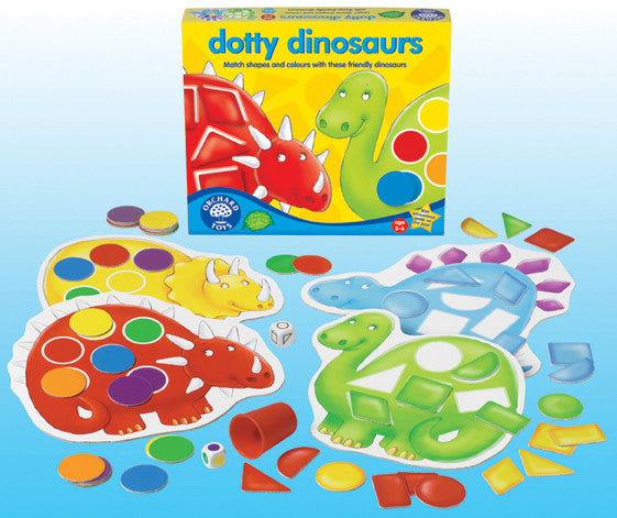 Orchard Toys - Dotty Dinosaurs Game | KidzInc Australia | Online Educational Toy Store