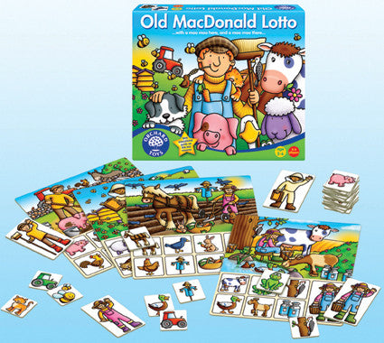 Orchard Toys - Old MacDonald Lotto Game | KidzInc Australia | Online Educational Toy Store