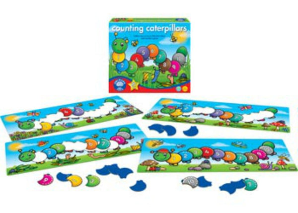 Orchard Toys - Counting Caterpillars | KidzInc Australia | Online Educational Toy Store