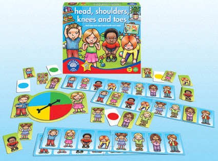 Orchard Toys - Heads, Shoulders, Knees & Toes Game | KidzInc Australia | Online Educational Toy Store
