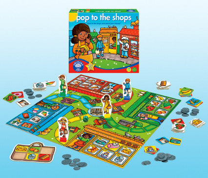 Orchard Toys - Pop to the Shops Game | KidzInc Australia | Online Educational Toy Store