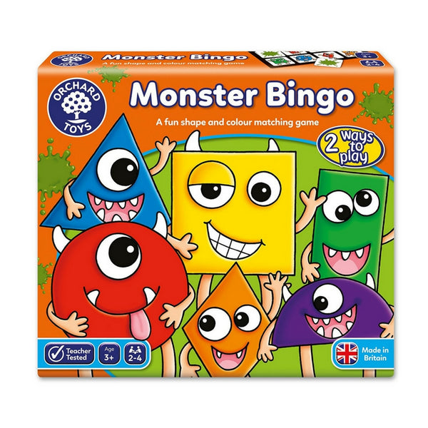 Orchard Toys - Monster Bingo Game | KidzInc Australia | Online Educational Toy Store