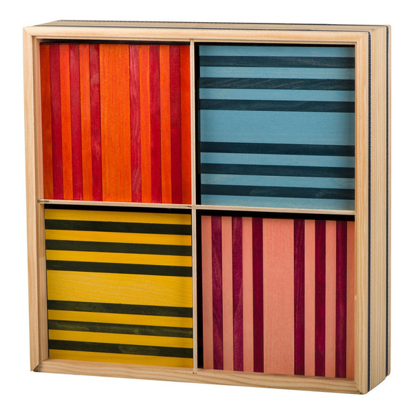 Kapla - Octocolour 100 Wooden Planks | KidzInc Australia | Online Educational Toy Store