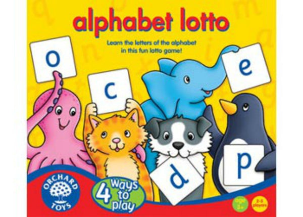 Orchard Toys - Alphabet Lotto Game | KidzInc Australia | Online Educational Toy Store